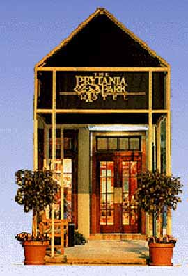 Front Entrance at the Prytania Park Hotel in New Orleans